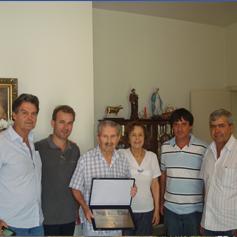 Serramar presta homenagem ao sócio fundador