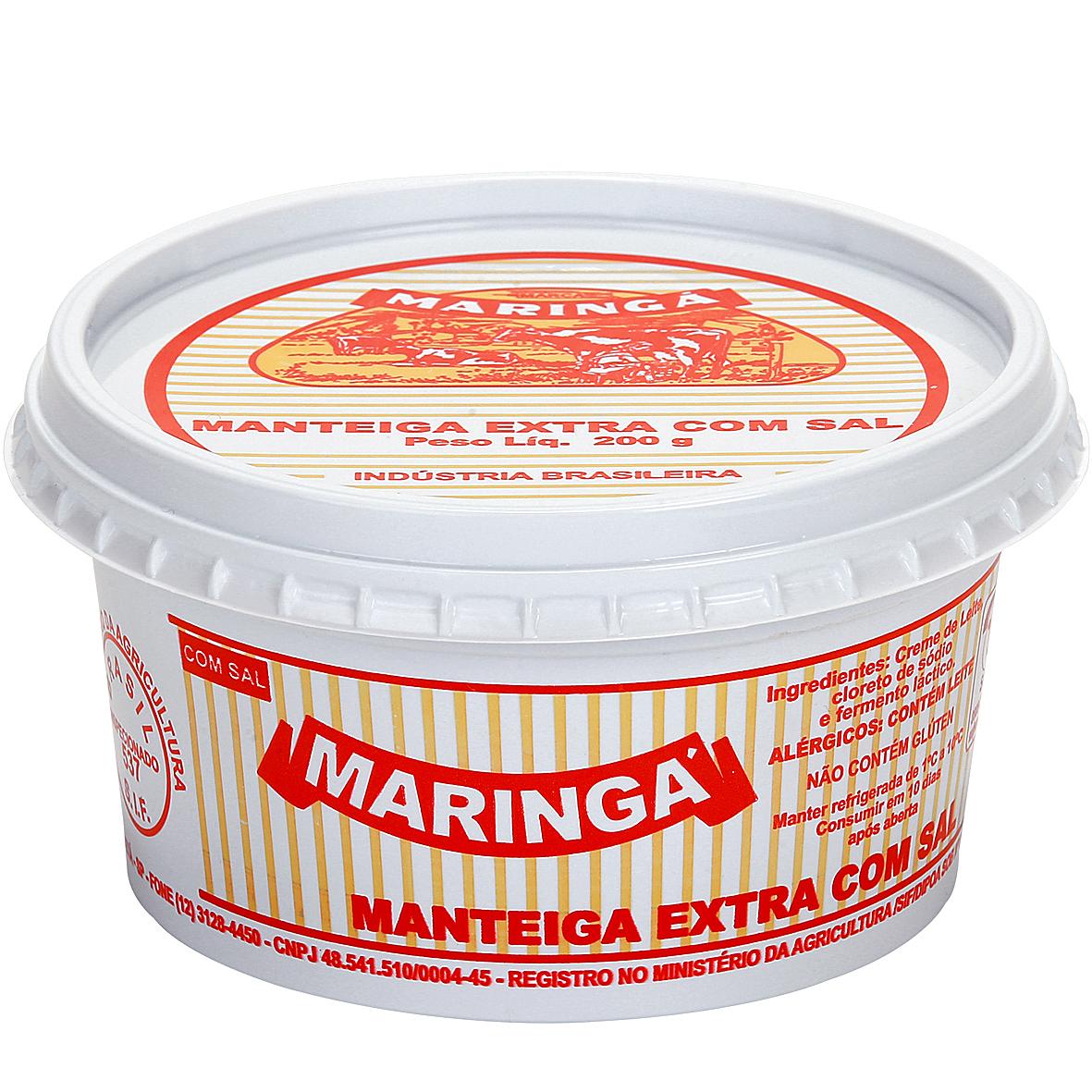 Manteiga Extra com Sal Maringá
