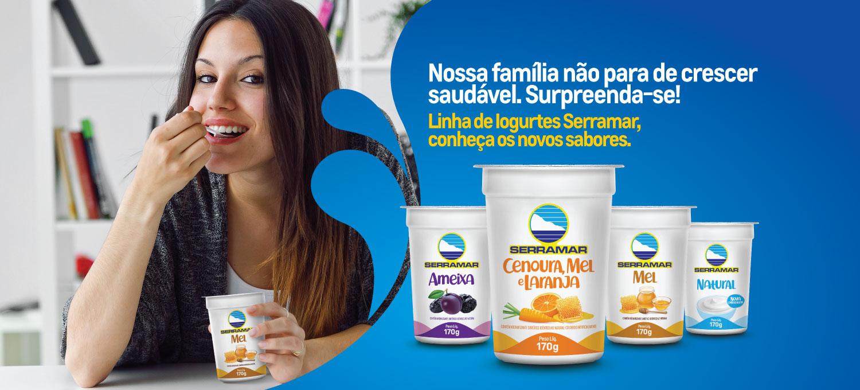Iogurtes Novos