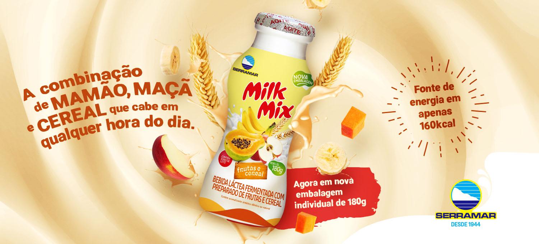 Milk Mix Frutas e Cereal